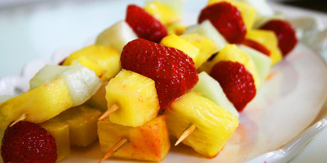 Somriga fruktspett